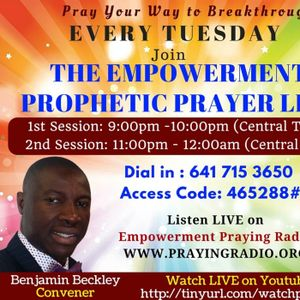 Roll Away The Stone - Empowerment Prayer Line LIVE