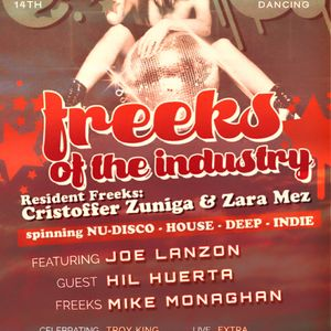 Freeks of the Industry show set - Cristoffer Zuniga & Zara Mez
