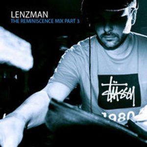 Lenzman - The Reminiscence Mix 3