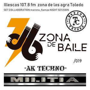 collaboration Zona de Baile- night session Nando Olmedo & moreno_flamas NTCM m.s factory sound vol2