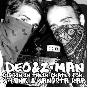 deo & z-man diggin in their crates for g-funk and gangsta-rap (dj-mix)