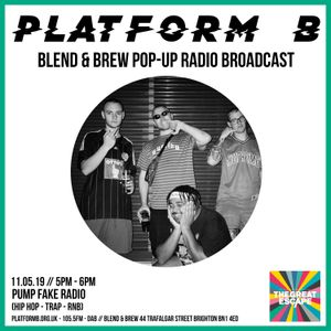 PUMP FAKE - Live from Blend & Brew (The Great Escape Festival) - 11th May 2019
