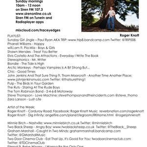 Tracey Edges - Sunday Girl (no.178) 09/4/17