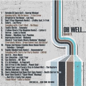 """""""Oh Well"""" mixed by David S (indie dance/nu disco set)"""