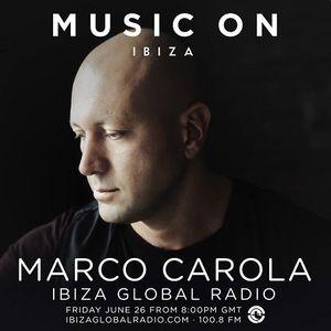 Marco Carola  - Music On Radio Show - 26-Jun-2015