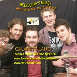 "MELBOURNE'S MUSOS with JAMES MORRISON ""THE VOICE"" * ""CALAMITY LANE"" STUDIO INTERVIEW 2015"