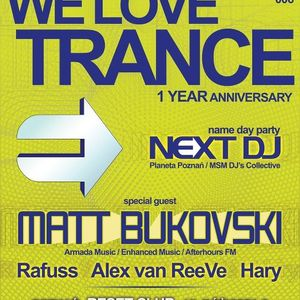 Alex van ReeVe - WE LOVE TRANCE Club Edition 006 @ Reset Club (Poznań)