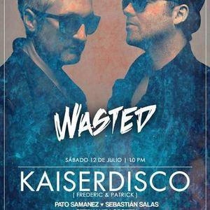 Kaiserdisco - Live @ Discoteca Voce Lima (Peru) 2014.07.12.