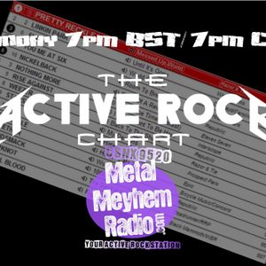 The Active Rock Chart with JayRock - June 26th 2017
