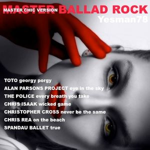 MASTER BALLAD ROCK (Toto,Alan Parsons Project,The Police