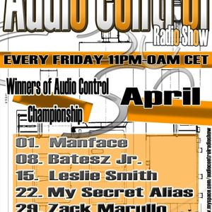 Manface live guest mix @ Audio Control Radio Show