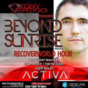Beyond Sunrise radio...Cxxiv featuring ACTIVA
