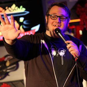 Comedian Elliott Elliott at Election Fallout Comedy Night at NEPA Scene Live