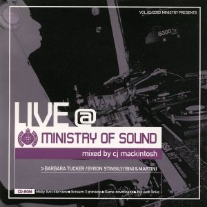 CJ Mackintosh Live @ The Ministry Of Sound CD