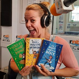 Episode 90 Middle Grade Novels with Humour and Heart - Author and Entertainer Nat Amoore