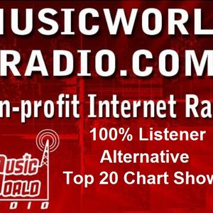 August 9th edition of the Music World radio top 20 Chart Show