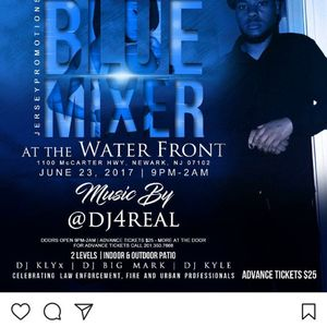 @DJT4Real Full $et @ The Thin Blue Mixer At Newark Waterfront (6/23/2017)