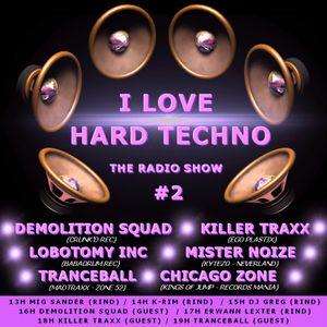 I Love Hard Techno DJ C.ced 11-06-2016 Jumpstyle 145 bpm