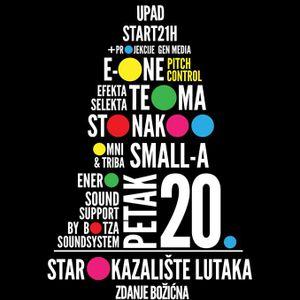 Live @ Božićna Žurka Kazalište Lutaka 20.12.2013.