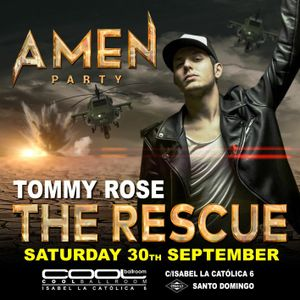 Tommy Rose @ Amen Party - The Rescue | Red Room Live Set