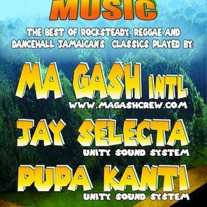 STORY OF JAMAICAN MUSIC - Part 1 - Pupa Kanti (Unity Sound) @ Corner 25, Geneva / 19.04.13