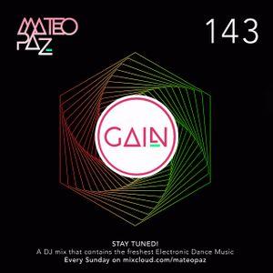 Mateo Paz - Gain vol.143