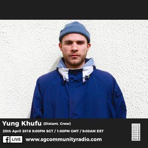SGCR Radio Show #55 - 25.04.2018 Episode Part 2 ft. Yung Khufu (Distant. Crew)