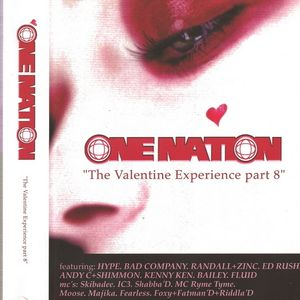 Randall with MCMC, Moose, Rhyme Tyme & IC3 at One Nation Valentines Exp. pt 8 (2001)