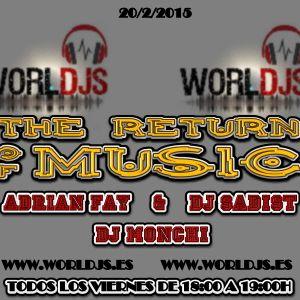 the return of music 3x01 con dj monchi completo