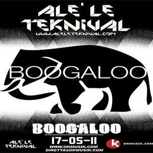 Alè Le Teknival 17.05.2011 - BOOGALOO