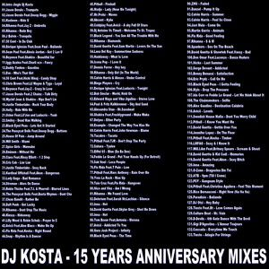 DJ Kosta - 15 Years Anniversary Mixes (Section Party Mixes)