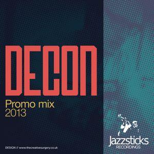 DECON Jazzsticks Promo Mix (Feb 2013)