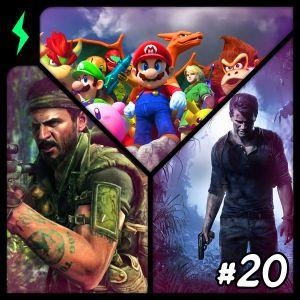 Nintendo Movie, Uncharted 4, CoDBlops - Wizard Mode #20