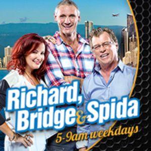 Richard, Bridge & Spida 9th May