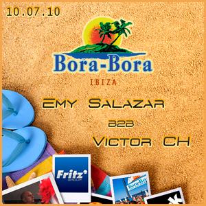 Emy Salazar B2B Victor CH @ Bora Bora (10-07-16)