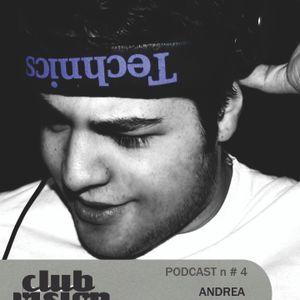 Club Vision #4 Podcast - Andrea Schillaci (Ksl.Rec/NeuroTraxx,Firenze)