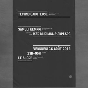 Iker Muruaga - CLFT@Le Sucre Lyon with Samuli Kemppi (16_08_2013 Warm up)