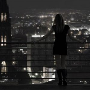 Nighttime in the city