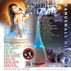 Dj Cruss-Summa Aroma (Dancehall Mixx-2012)