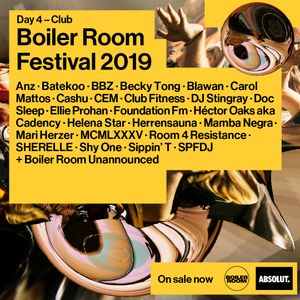 DJ Stingray @ Boiler Room Festival 2019 (2019.10.12 - London)