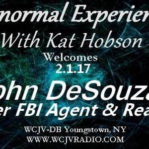 Paranormal Experienced with Host Kat Hobson_20170201_John DeSouza