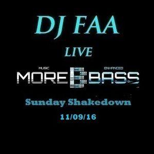 DJ FAA ...LIVE ON MOREBASS.COM .... 11/09/16