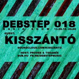 DEBstep radio show level 18 w/ Kisszántó