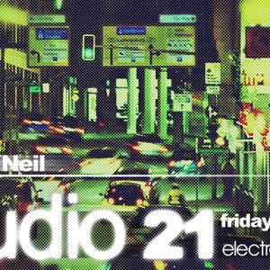 Marc O Neil - WEB-TV Show   STUDIO21 live electrosound.tv 09 Nov 2012