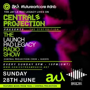 062815 Launch Pad Legacy DnB Show with Tidal and Central Projection