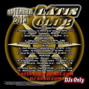 Mix 2013 Nov Latin Club (djleo)