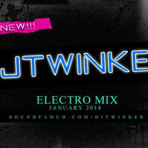 Dj Twinker - Electro Mix [January 2014]