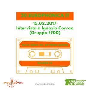 Ignazio Corrao ai microfoni di Europhonica #IT 15.02.2017