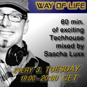 Sascha Luxx - THE ELECTRONIC WAY OF LIFE 001 @ Stromkraft Radio 23.08.12