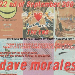 David Morales d.j. Metropolis (Na) Angels of Love 22 09 2001 cd1